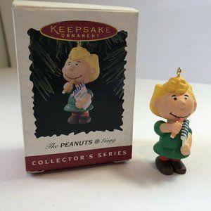 Hallmark Keepsake The Peanuts Gang Ornament Sally